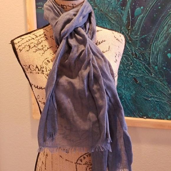 Accessories - Denim Blue Scarf